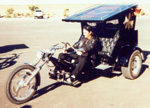 Alice Cooper Trike Motorcycle, three wheeled motorcycle